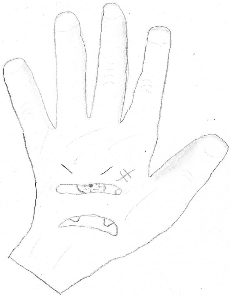 main diabolique